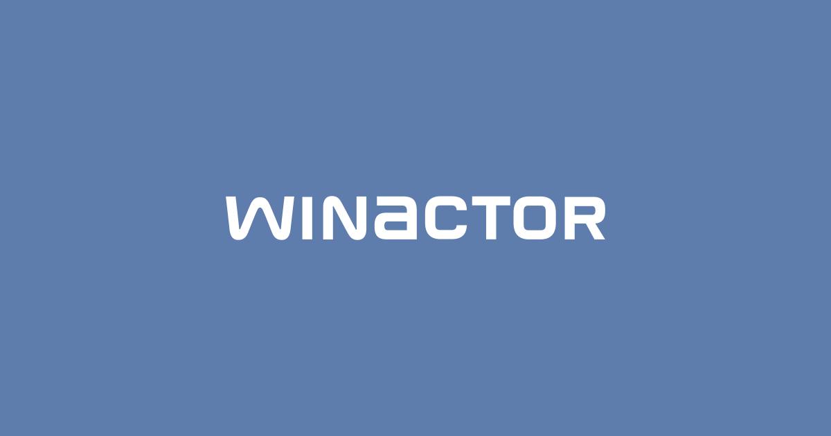 RPA WinActor ウィンアクター
